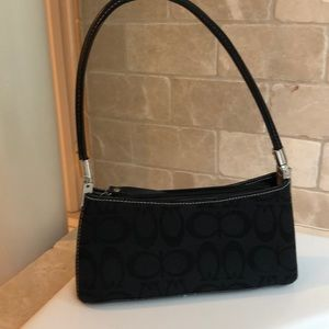 Coach small faux bag